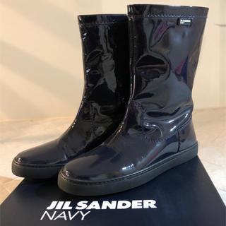 ジルサンダー(Jil Sander)のジルサンダー  レインブーツ  37 23.0〜23.5(ブーツ)