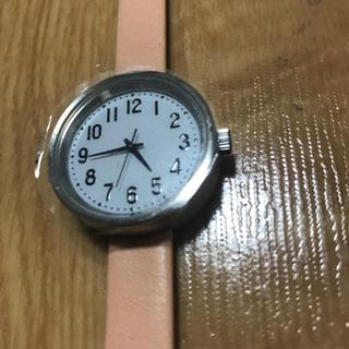 ムジルシリョウヒン(MUJI (無印良品))の無印良品 腕時計 公園の時計・小 バンド:ヌメ革(腕時計)