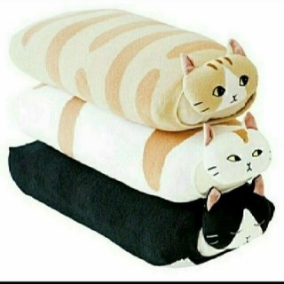 フェリシモ(FELISSIMO)の猫と夢見るピローカバー(シーツ/カバー)