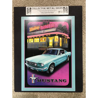 COLLECTOR METAL SIGNS(アートパネル)フォード・マスタング