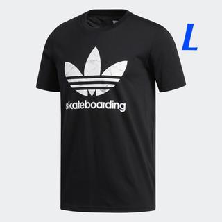アディダス(adidas)の【メンズL】黒/マーブル   SB Tシャツ(Tシャツ/カットソー(半袖/袖なし))