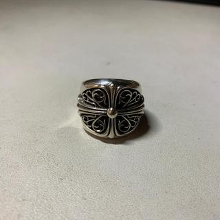 クロムハーツ(Chrome Hearts)のオーバルクロスリング(リング(指輪))