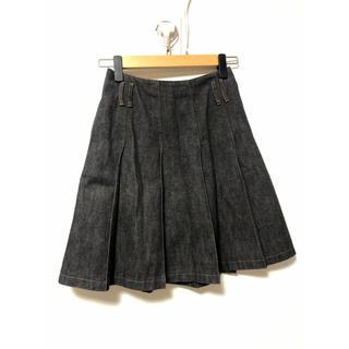 バーバリー(BURBERRY)のBurberry LONDON デニムスカート(ひざ丈スカート)