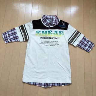 七分丈シャツ(Tシャツ/カットソー(七分/長袖))