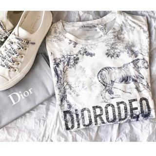 ディオール(Dior)のDior(ディオール)トワル ドゥ ジュイ コットン/リネン Tシャツ 3色(Tシャツ(半袖/袖なし))