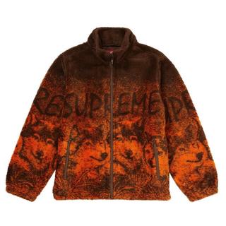 シュプリーム(Supreme)のsupreme wolf fleece jacket(その他)