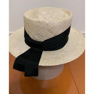 ドゥロワー(Drawer)の【新品】Chapeau d'O/シャポードオー カンカン帽 帽子(ハット)