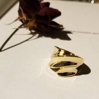 フラワー(flower)のgold ring''(リング(指輪))