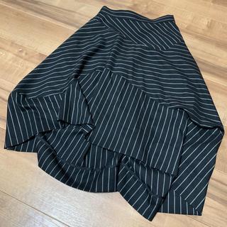 ヴィヴィアンウエストウッド(Vivienne Westwood)のVivienne Westwood 変形スカート 黒(ロングスカート)