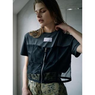 アメリヴィンテージ(Ameri VINTAGE)のAmeri VINTAGE  MY UNION TEE ブラック(Tシャツ(半袖/袖なし))