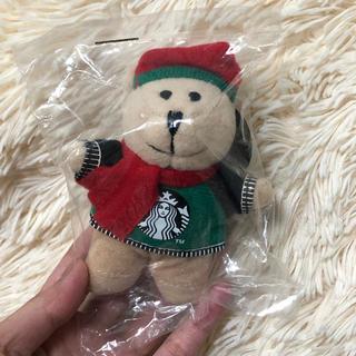 Starbucks Coffee - 海外限定  スターバックス   ミニベアリスタ 限定 ぬいぐるみ マグネット