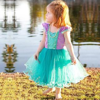 69c475cc452fb ディズニー(Disney)のアリエルドレス プリンセスドレス リトルマーメイド 90 100 110 120(