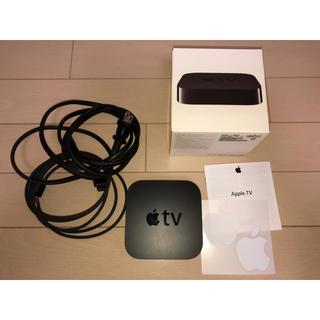 アップル(Apple)のApple TV A1378 MC572J/A 本体 + 型違いのリモコン(その他)