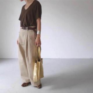 ヤエカ(YAECA)の完売!ARGUE VネックTシャツ(Tシャツ(半袖/袖なし))
