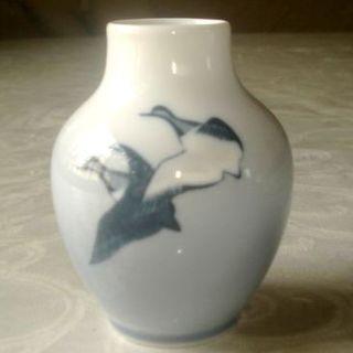 ロイヤルコペンハーゲン(ROYAL COPENHAGEN)のみえさま専用 美品♪ ロイヤルコペンハーゲン 花瓶 渡り鳥(花瓶)