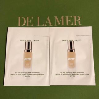 ドゥラメール(DE LA MER)の【新品】ドゥラメール ファンデーション 2個(ファンデーション)