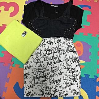 ローズバッド(ROSE BUD)の°+新品MotelRocksスカート+°(ミニスカート)