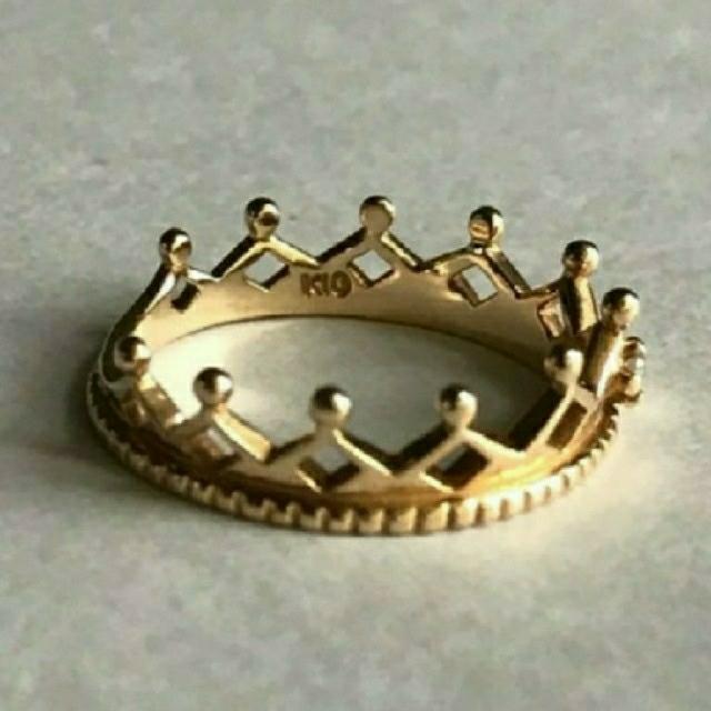 NOJESS(ノジェス)のNOJESSクラウンリング👑 レディースのアクセサリー(リング(指輪))の商品写真