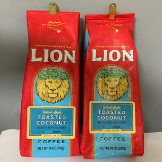 ライオン(LION)のライオンコーヒー トーステッドココナッツ 283g × 2個(コーヒー)