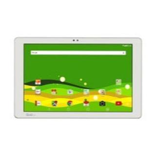 キョウセラ(京セラ)のタブレット端末 Qua tab PZ LGT32 WHITE (タブレット)