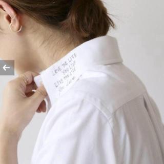 マディソンブルー(MADISONBLUE)の2点セット MADISONBLUE メッセージシャツ 01 新品(シャツ/ブラウス(長袖/七分))