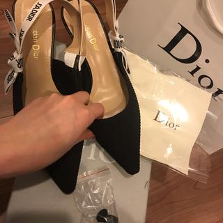 ディオール(Dior)のディオール パンプス サンダル ルブタン セルジオロッシ(ハイヒール/パンプス)