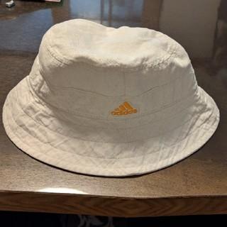 アディダス(adidas)のadidas アディダス 帽子 キャップ クリーム色 ベージュ(キャップ)