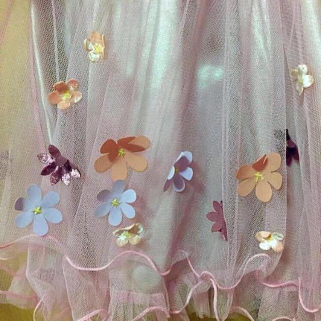 Secret Magic(シークレットマジック)の3Dフラワーチュールスカート レディースのスカート(ミニスカート)の商品写真