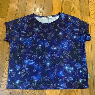 リベットアンドサージ(rivet & surge)の【RIVET & SURGE】宇宙柄変形Tシャツ(Tシャツ(半袖/袖なし))