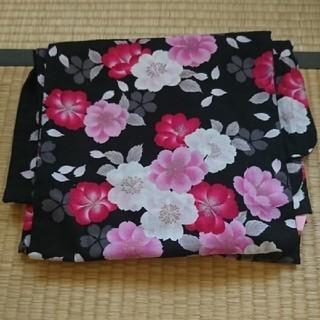 AEON - レディース 花柄 浴衣