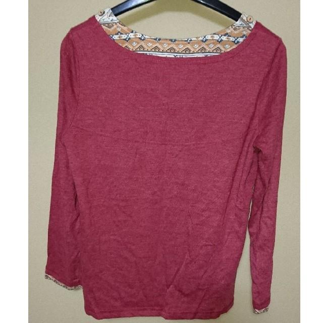 しまむら(シマムラ)の長袖Tシャツ レディースのトップス(Tシャツ(長袖/七分))の商品写真