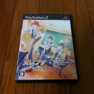 プレイステーション2(PlayStation2)のPS2 オレンジハニー 僕は君に恋してる(家庭用ゲームソフト)