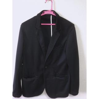 ジーユー(GU)のg.u. テーラードジャケット 紺色(テーラードジャケット)
