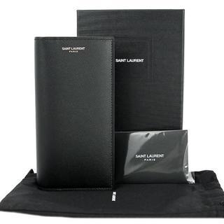 サンローラン(Saint Laurent)のサンローラン 二つ折り長財布 クラシック 本革 ブラック(長財布)