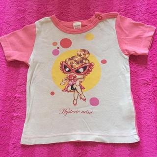 ヒステリックミニ(HYSTERIC MINI)のヒスミニ Tシャツ 80(シャツ/カットソー)