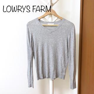ローリーズファーム(LOWRYS FARM)のローリーズファーム Vネック セーター(ニット/セーター)