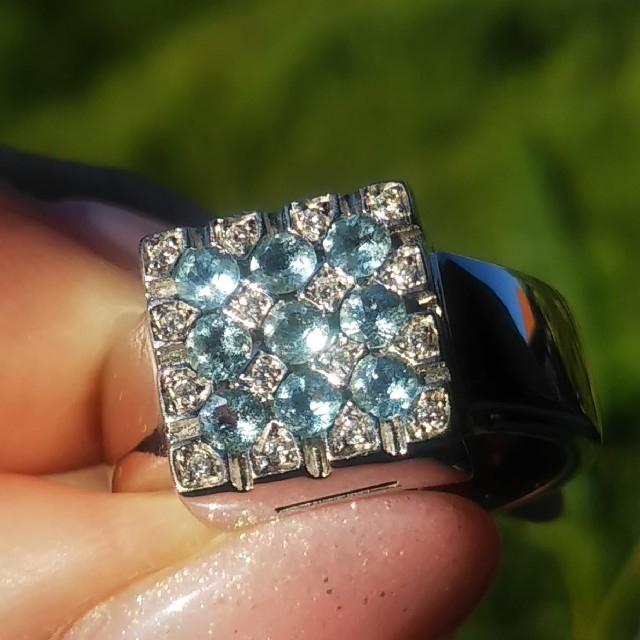 PonteVecchio(ポンテヴェキオ)の⭐️sasa 様専用 美品 ポンテヴェキオ リング 指輪 ダイヤ k18 WG レディースのアクセサリー(リング(指輪))の商品写真