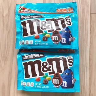 エムアンドエム(M&M)の日本未発売☆レア☆m&m's・ヘーゼルナッツスプレッド・272.2g×2個(菓子/デザート)