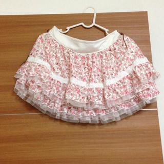 リズリサ(LIZ LISA)の花柄スカート(ミニスカート)