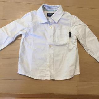 ニシマツヤ(西松屋)のシャツ 白 男の子 90(ブラウス)