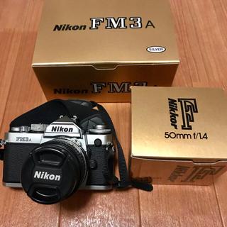 ニコン(Nikon)のNikon FM3A ニッコール 50mm F1.4 セット(フィルムカメラ)
