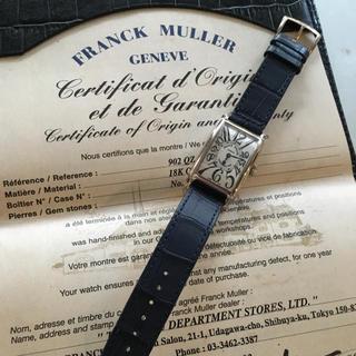フランクミュラー(FRANCK MULLER)の専用 フランクミュラー ロングアイランド902 WG(腕時計)