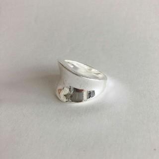 アメリヴィンテージ(Ameri VINTAGE)のインポート  silver 925 simple ring(リング(指輪))