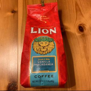 ライオン(LION)のライオンコーヒー バニラマカダミアフレーバー 24OZ (680g)(コーヒー)