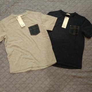 ジーユー(GU)の新品☆ジーユー 男の子 130センチと140センチTシャツ(Tシャツ/カットソー)