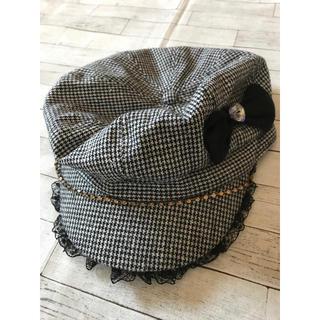 マザウェイズ(motherways)のマザウェイズ キャスケット帽(帽子)
