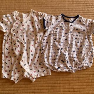d33f2b71508ff ニシマツヤ(西松屋)のベビー ロンパース 新生児 まとめ売り 福袋 セット(ロンパース)