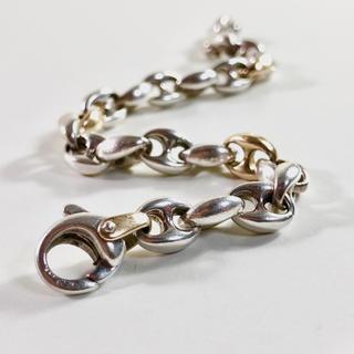 ティファニー(Tiffany & Co.)のVINTAGE TIFFANY Hリンク 18K ブレスレット ティファニー(ブレスレット)