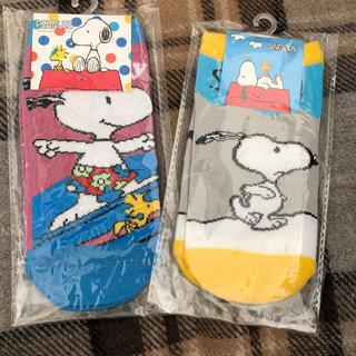 スヌーピー(SNOOPY)のスヌーピー 靴下(その他)
