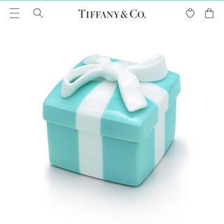 ティファニー(Tiffany & Co.)のTiffany& Co. ミニブルーボウボックス(小物入れ)